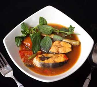 Indonesian Traditional Pangasius Soup