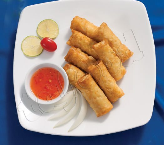 New taste, new experience with pangasius spring roll.