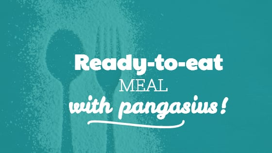 Tasty ready-to-eat meal with pangasius!