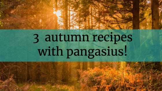 The 3 most popular autumn recipes with pangasius!